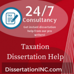 Taxation Dissertation Help