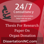 Thesis For Research Paper On Organ Donation