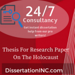 Thesis For Research Paper On The Holocaust