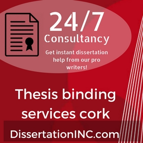 Thesis binding services cork