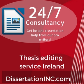 Thesis editing service Ireland