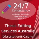 Thesis editing services Australia