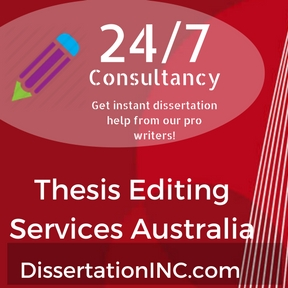 Thesis editing services english