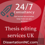 Thesis editing services uk