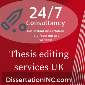 Dissertation editing company