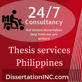 Thesis services Philippines