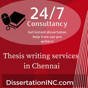 Thesis writing services in Chennai