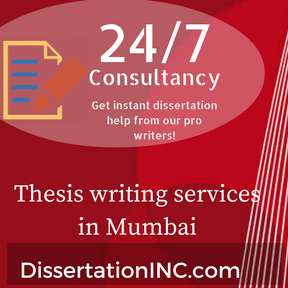 Thesis writing services in Mumbai
