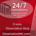 Z-tests Dissertation Help