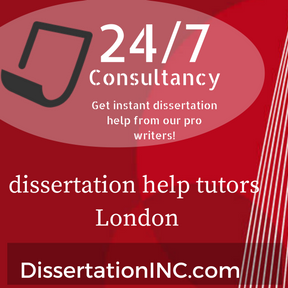 dissertation help tutors London
