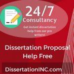 Dissertation Proposal Help Free