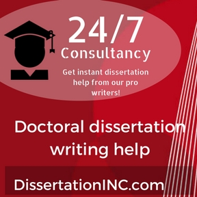 Doctoral dissertation writing help