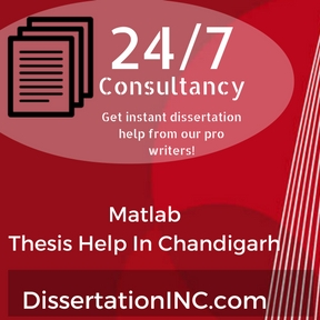 Matlab Thesis Help In Chandigarh