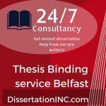 Thesis Binding service Belfast