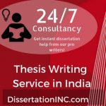 Thesis Writing Service in India