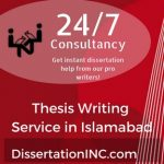 Thesis Writing Service in Islamabad