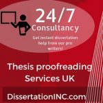 Thesis proofreading Service UK