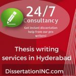 Thesis writing service in Hyderabad