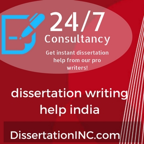 dissertation writing help india